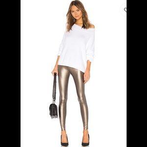NWT COMMANDO Faux Leather Legging Bronze Small